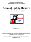 front cover head start annual public report click image to view contents